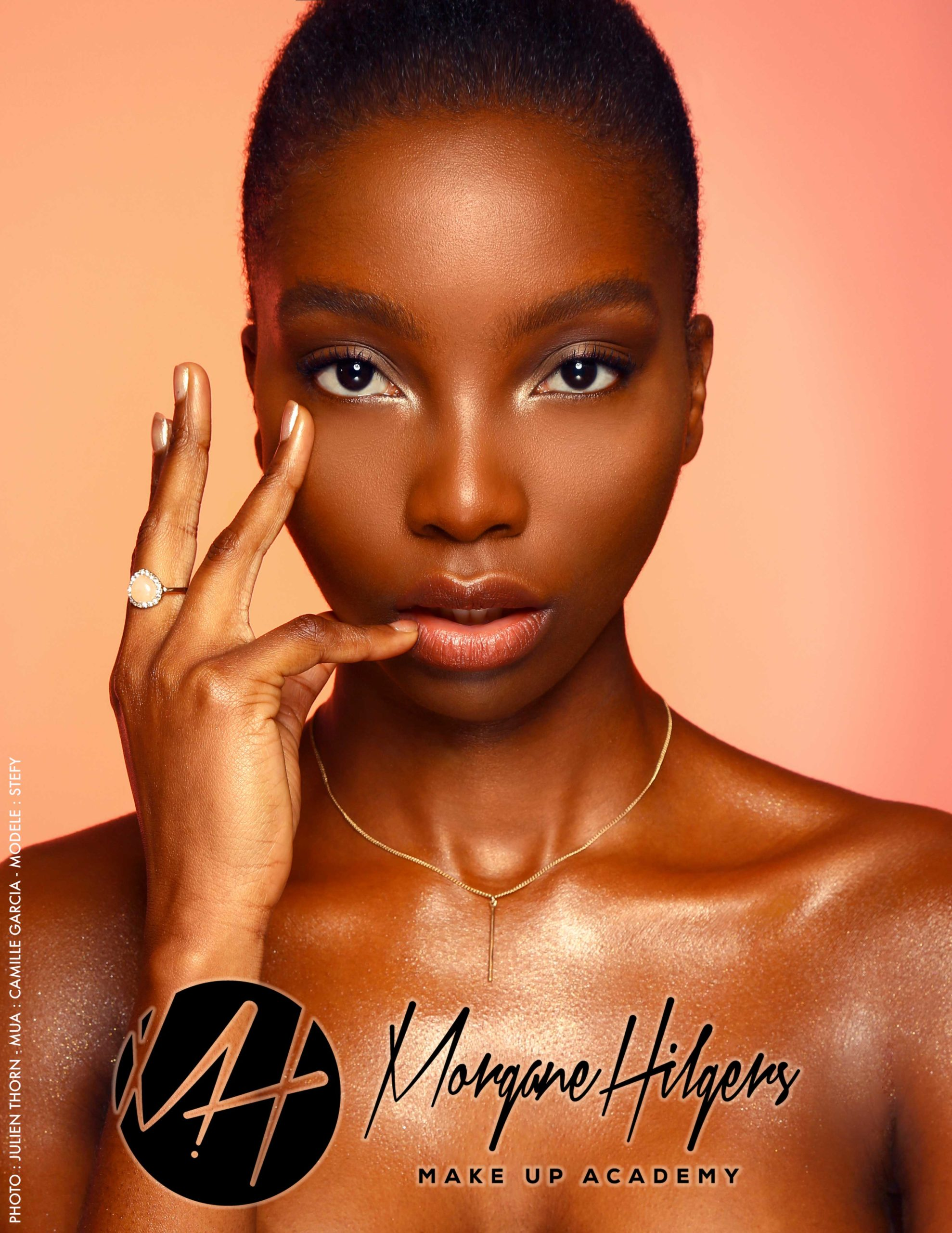 Make up on black skin, shades that match by Morgane Hilgers