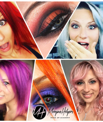 How to choose your make-up according to your hair colour by Morgane Hilgers